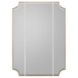 Moulin Triptych Mirror