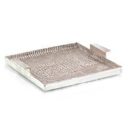 Alligator Textured Aluminum Tray II