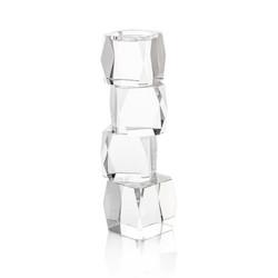 Crystal Cubist Candleholder - Medium