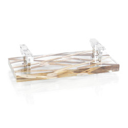 Branches Suspended in Acrylic Tray