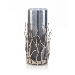 Nickel Sapling Candleholder II