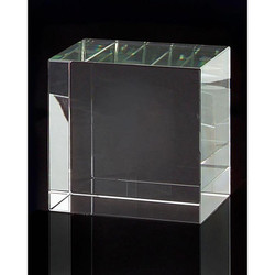 Optical Glass Display Stand - Square