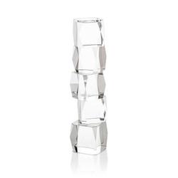 Crystal Cubist Candleholder - Large