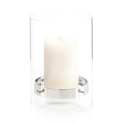 Floating Candleholder in Nickel I