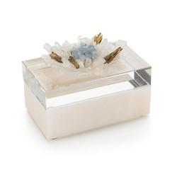 Festooned in Stones Box with Celestite