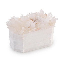 Crystals on White Box