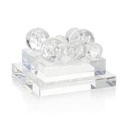 Bubble Glass Orb Sculpture