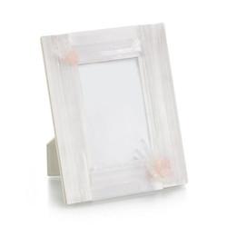 Selenite and Pink Quartz Photo Frame