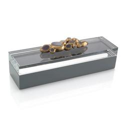 Encased Agate Box I