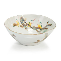 Twigs and Teal Bowl III