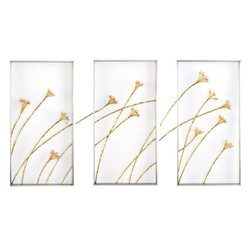 Set of Three Windswept Triptych Wall Panels