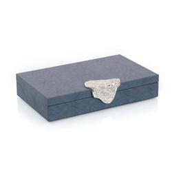 Gypsy Blue Leather Box I