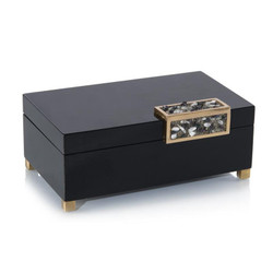 Black Box with a Silver Stone