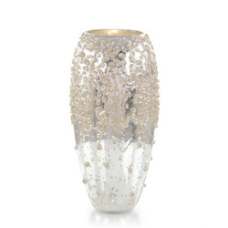 Encrusted in Sparkle Vase