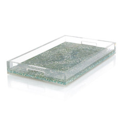 Shimmering Turquoise Tray