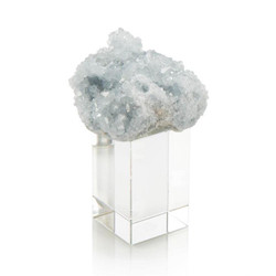 Celestite on Crystal - Small