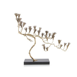 Conifer in Brass