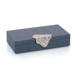 Gypsy Blue Leather Box II