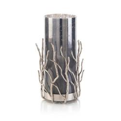 Nickel Sapling Candleholder I