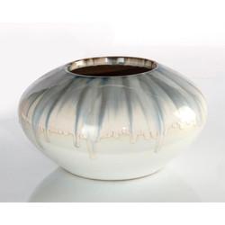 Dreamy Blue and Cream Vase