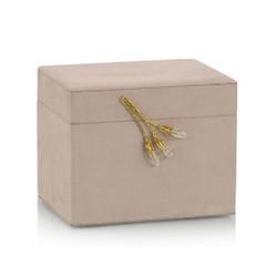 Blush Suede Jewelry Box II