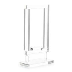 Framed Crystal Candleholder II