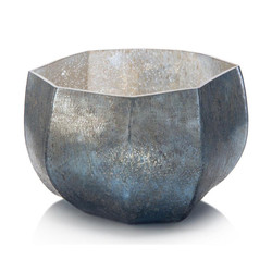 Hint of Blue Seven-Sided Bowl