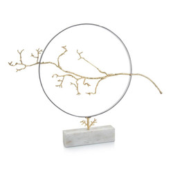 Hoop and Branch Sculpture
