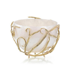 Reeds and Cream Bowl