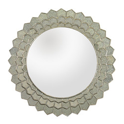 Antique Sunflower Wall Mirror
