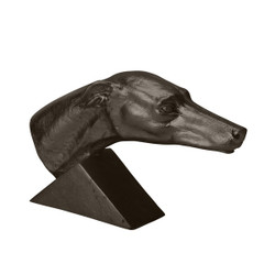 Aged Black Grand Greyhound