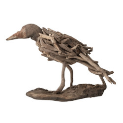Natural Driftwood Bird