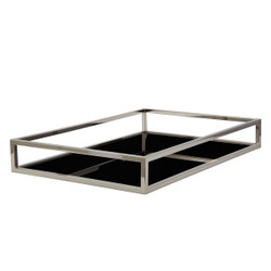 Box Rod Rectangular Tray