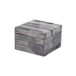 Gray And White Bone Boxes