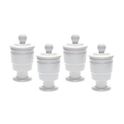Polar Filled Votive - Set Of 4