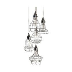 Wire Five Pendant Lamp