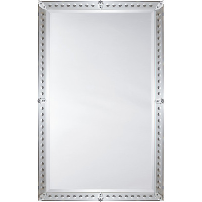 Framed modern mirror Black Signature Hardware Mirror Image Home Mirror Framed Venetian Mirror 1