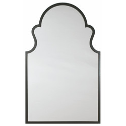 Ebony Arch Mirror