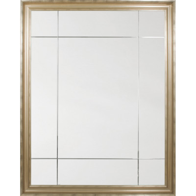Champagne Nine Panel Mirror