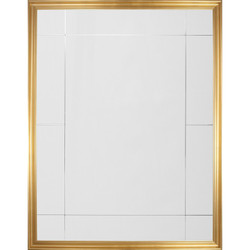 Gold Leaf Eleven Panel Mirror