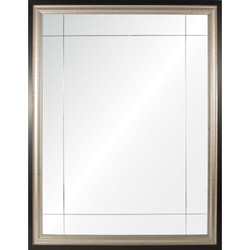 Platinum & Ebony Nine Panel Mirror