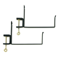 Clamp-On Flower Box Brackets- Achala