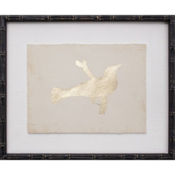 Gold Leaf Bird IX