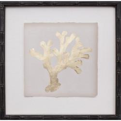 Mini Gold Leaf Coral II