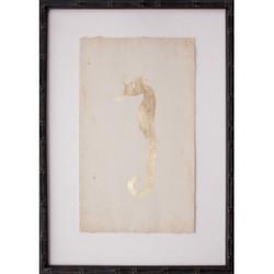 Goldleaf Seahorse I
