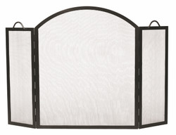 Arched Top Twisted Rope Screen