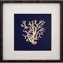 Gold Leaf Coral I