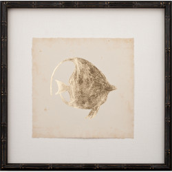 Gold Leaf Fish III