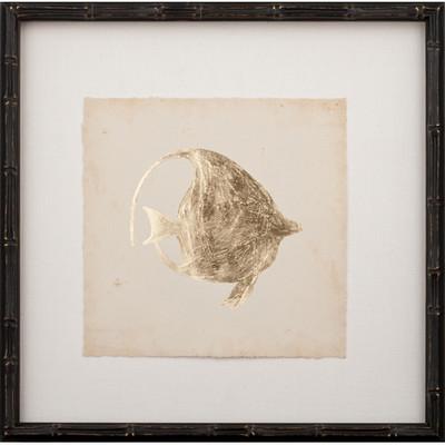 Gold Leaf Fish III