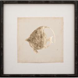 Gold Leaf Fish IV